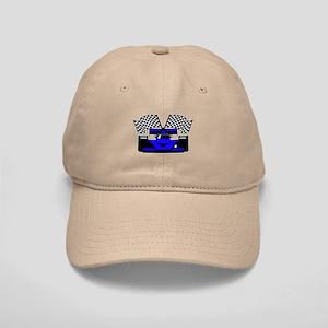ROYAL BLUE RACE CAR Cap