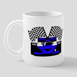 ROYAL BLUE RACE CAR Mug