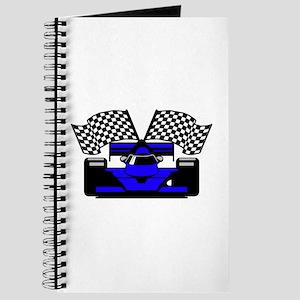 ROYAL BLUE RACE CAR Journal