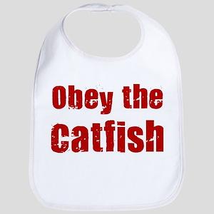 Obey the Catfish Bib