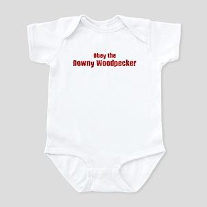 Obey the Downy Woodpecker Infant Bodysuit