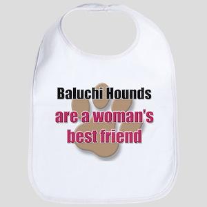 Baluchi Hounds woman's best friend Bib