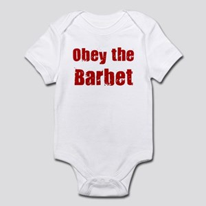Obey the Barbet Infant Bodysuit