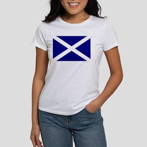 Scotland St. Andrew Flag 4 Women's T-Shirt