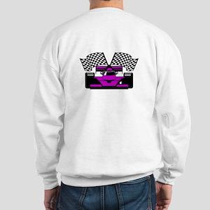 PURPLE RACE CAR Sweatshirt