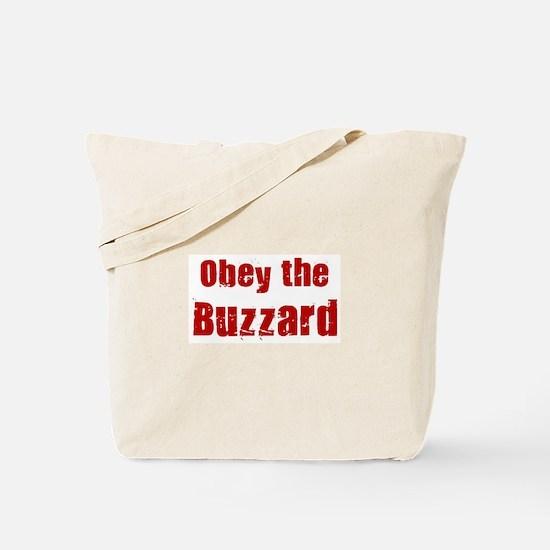Obey the Buzzard Tote Bag