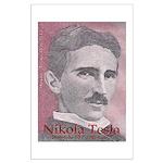 """Tesla-1 27"""" hi image Large Poster"""