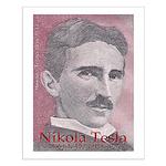 "Tesla-1 18"" hi image Small Poster"
