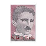 """Tesla-1 16.3"""" hi imageMini Poster Print"""