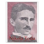 "Tesla-1 20"" hi image Small Poster"