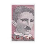 Tesla-1 Rectangle Sticker 50 pk)