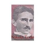 Tesla-1 Rectangle Sticker 10 pk)