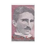 Tesla-1 Rectangle Sticker