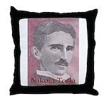 Tesla-1 Throw Pillow
