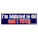 Addicted_2_Oil Bumper Sticker