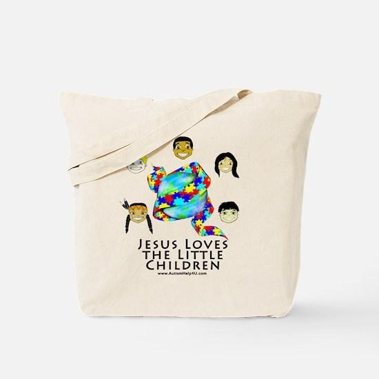 Jesus Loves Tote Bag