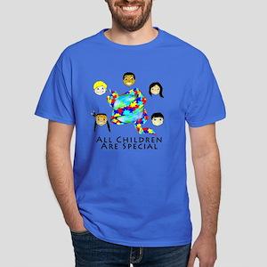 All Children Are Special Dark T-Shirt