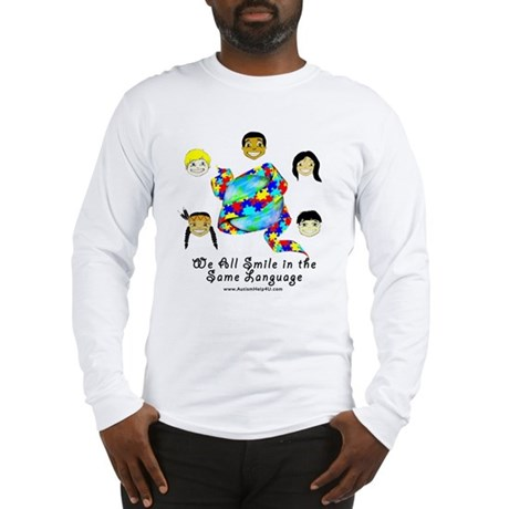 Smile in the Same Language Long Sleeve T-Shirt