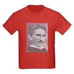 Tesla-1 Kids Dark T-Shirt