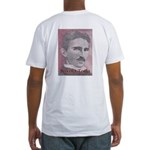 Tesla-1 Fitted T-Shirt