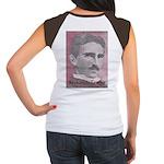 Tesla-1 Women's Cap Sleeve T-Shirt