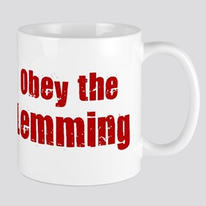 Obey the Lemming Mug
