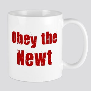 Obey the Newt Mug