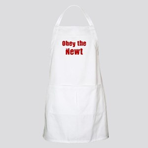 Obey the Newt BBQ Apron