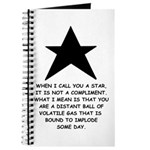 When I Call You A Star Journal