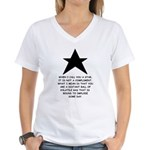 When I Call You A Star Women's V-Neck T-Shirt