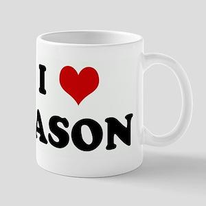 I Love JASON Mug