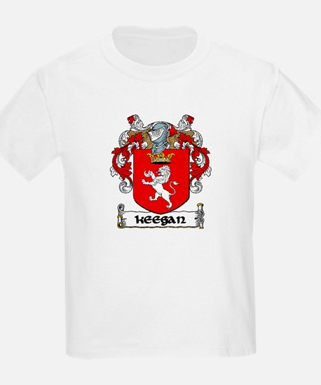 Keegan Coat of Arms Kids T-Shirt