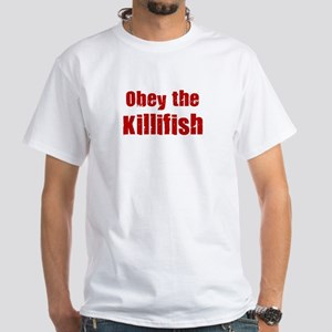 Obey the Killifish White T-Shirt