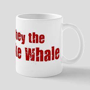 Obey the Minke Whale Mug