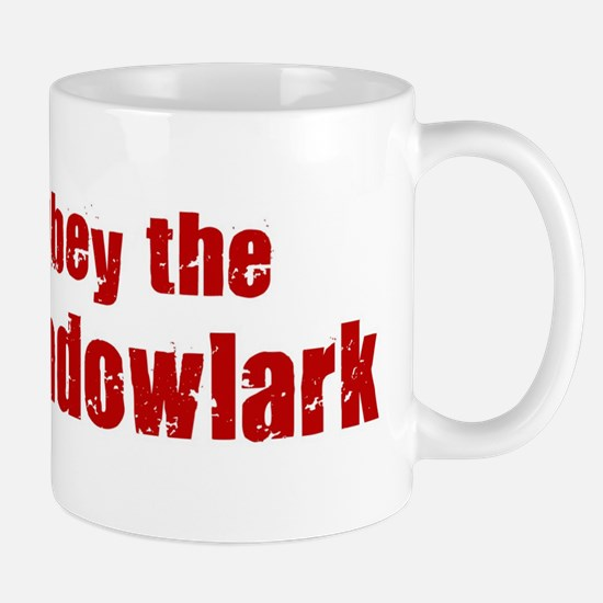 Obey the Meadowlark Mug
