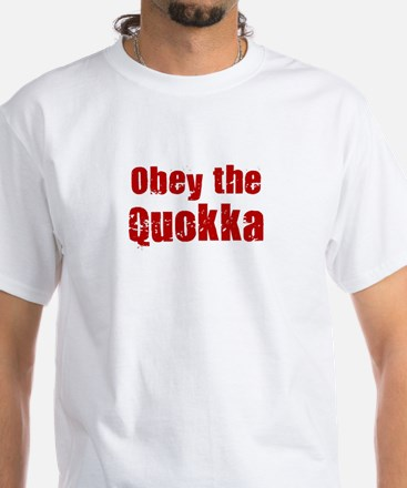 Obey the Quokka White T-Shirt