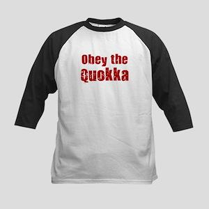 Obey the Quokka Kids Baseball Jersey