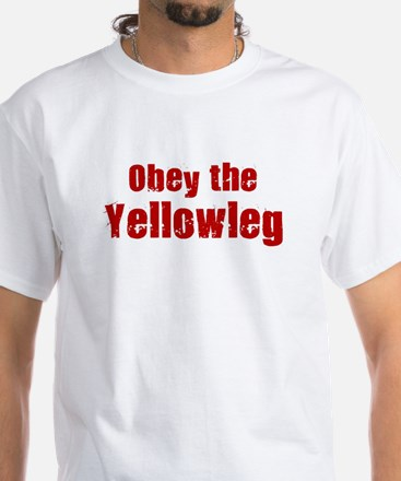 Obey the Yellowleg White T-Shirt