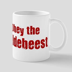 Obey the Wildebeest Mug
