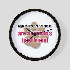 Appenzeller Sennenhunds woman's best friend Wall C