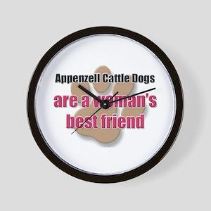 Appenzell Cattle Dogs woman's best friend Wall Clo