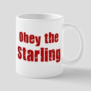 Obey the Starling Mug