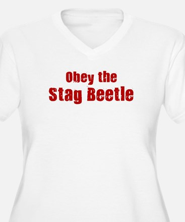 Obey the Stag Beetle T-Shirt