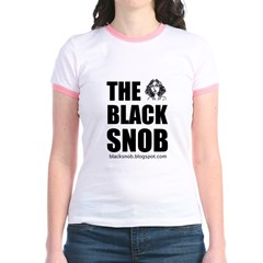 "The Black Snob ""Logo Girl"" T"