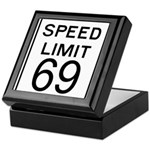 Speed Limit 69 Keepsake Box