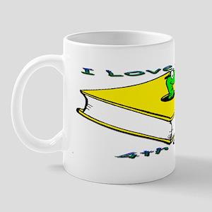 Bookworm 4th Grade Mug