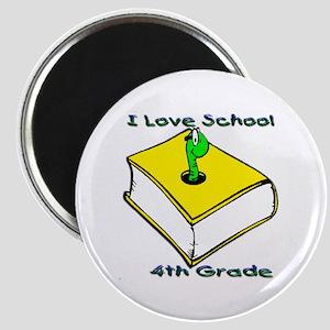 Bookworm 4th Grade Magnet