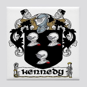 Kennedy Coat of Arms Ceramic Tile