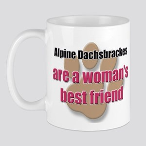 Alpine Dachsbrackes woman's best friend Mug