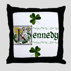 Kennedy Celtic Dragon Throw Pillow